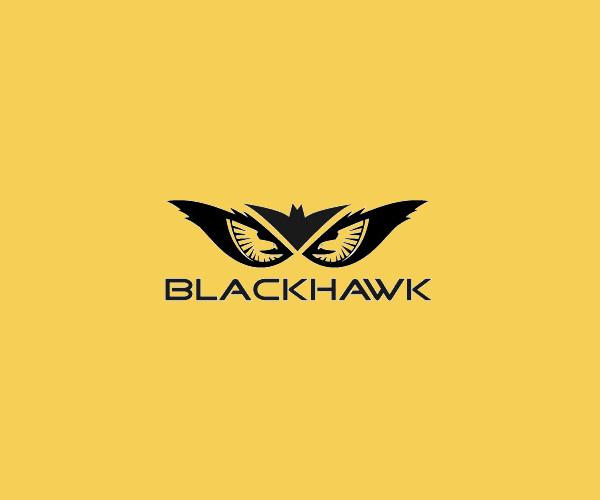 Black Hawk Logo For Free