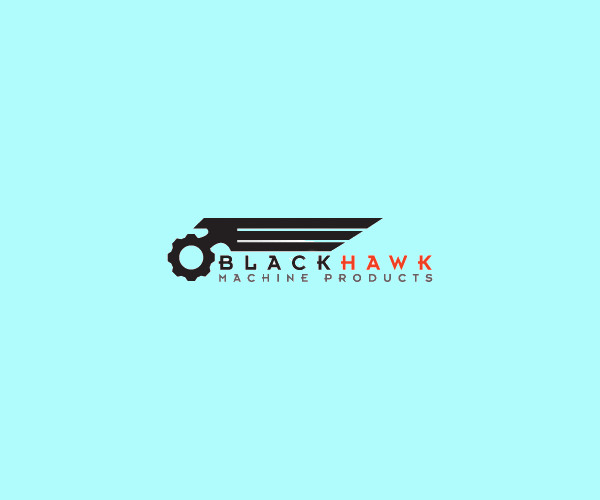 Black Hawk Machine Logo