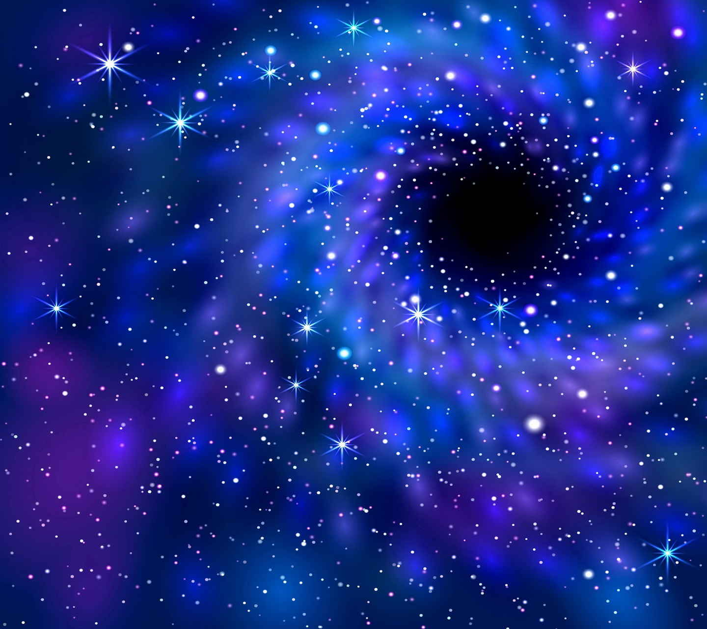 Black Hole Nebula Wallpaper