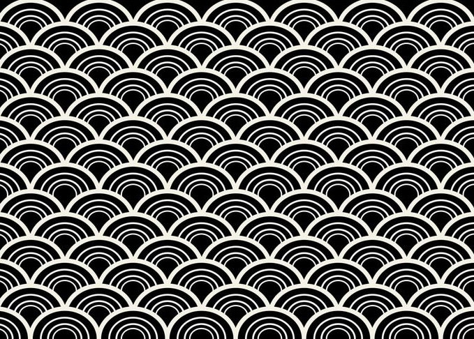 Black & White Seamless Abstract Pattern