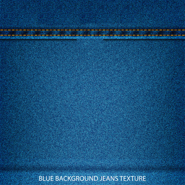 Blue Background Jeans Texture