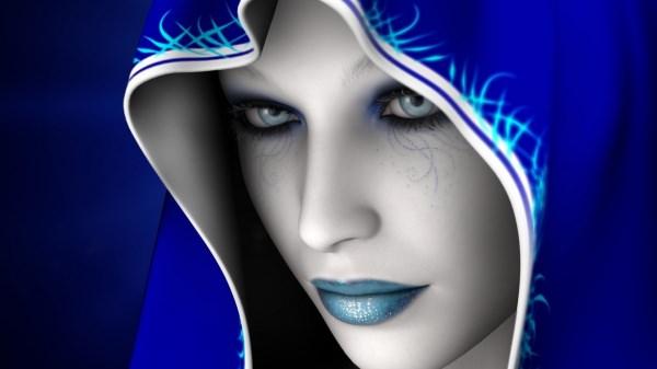 Blue Dream Fantasy Wallpaper