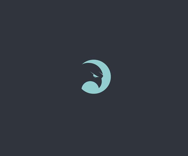 Blue Eyes Hawk Logo