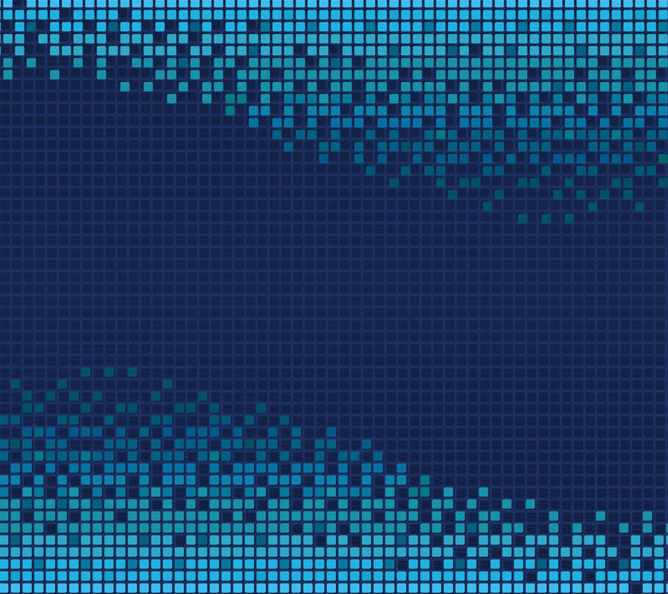 Blue Grid lattice Patterns