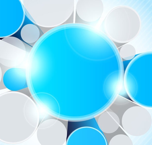 Blue Modern Vector Background