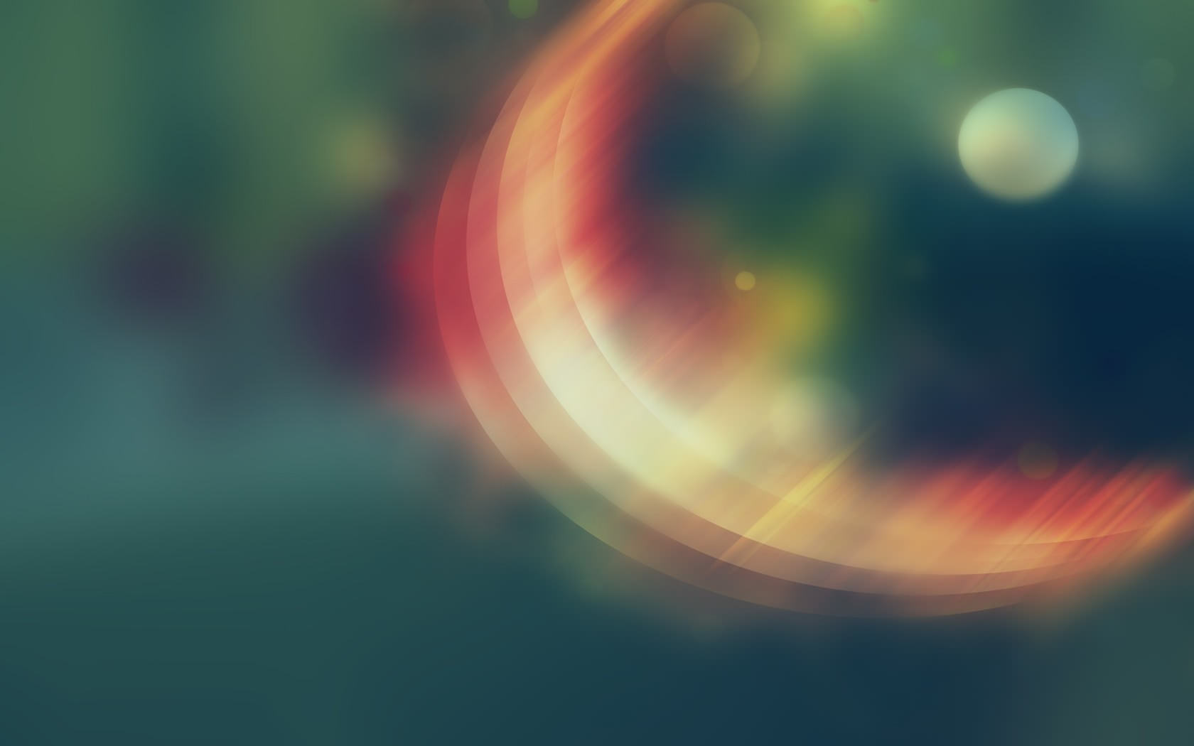 Blurred Half MoonWallpaper