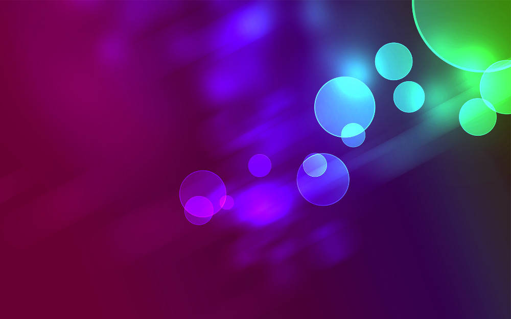 Bokeh Circular Background Wallpaper
