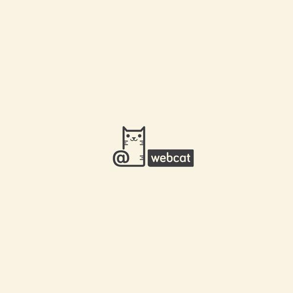 Brand Web Cat Logo