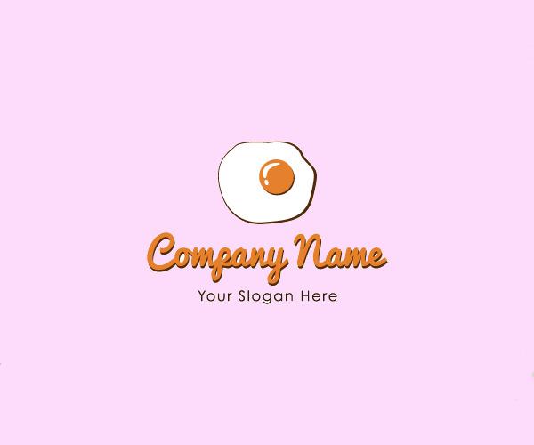 Breakfast Egg Logo Design