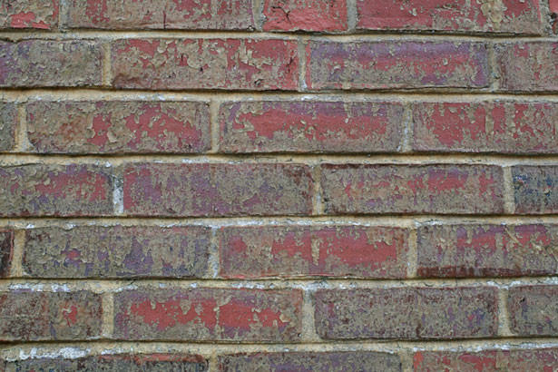 Brick Wall Distressed Wallpaper