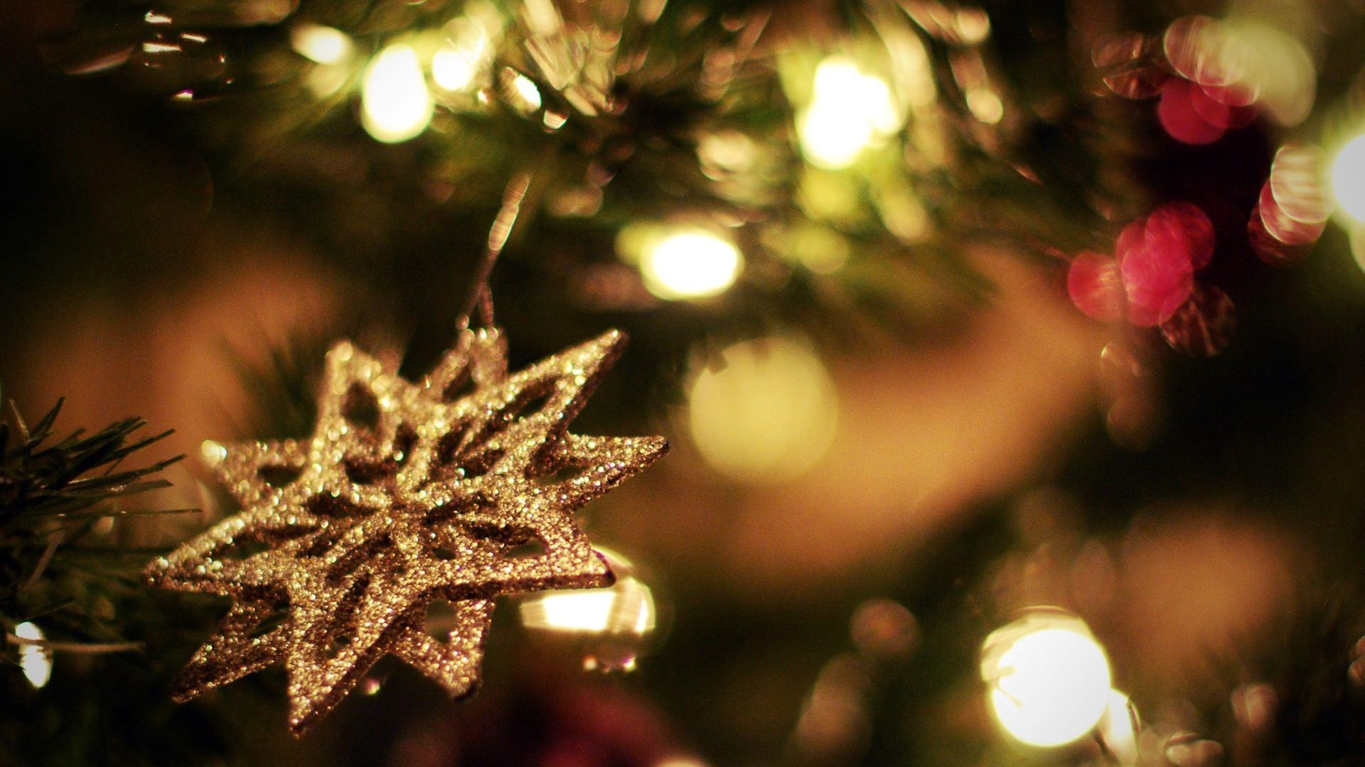 Bright light Snowflake Decoration