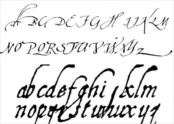 Calligraphy Aquiline Font