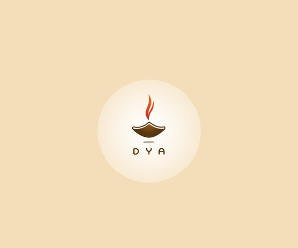 Candle Diya Glow Logo