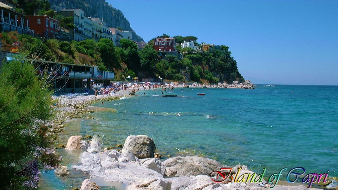 Capri The Island of Love Wallpaper