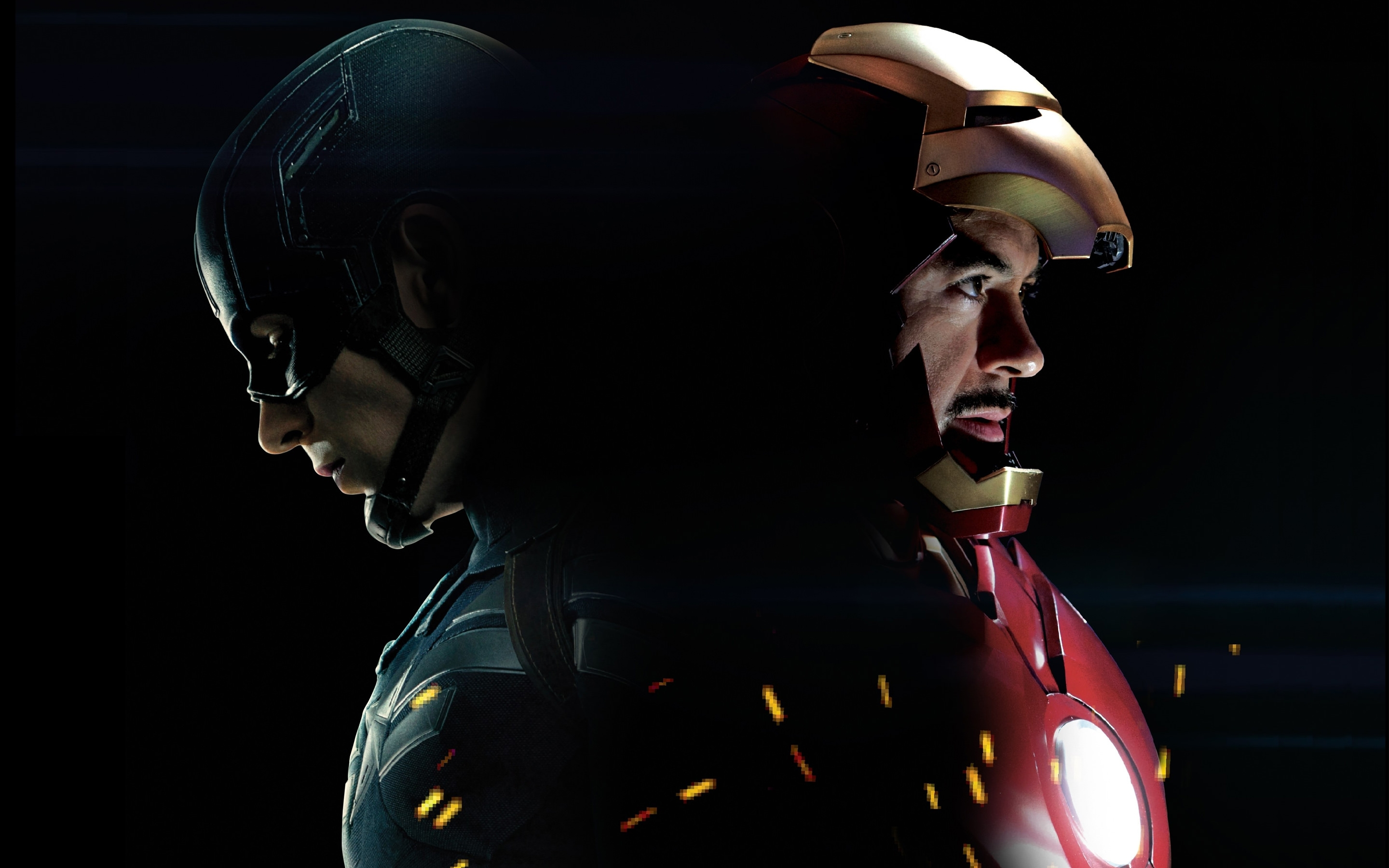 Captain America 3 Civil War Iron Man Wallpaper