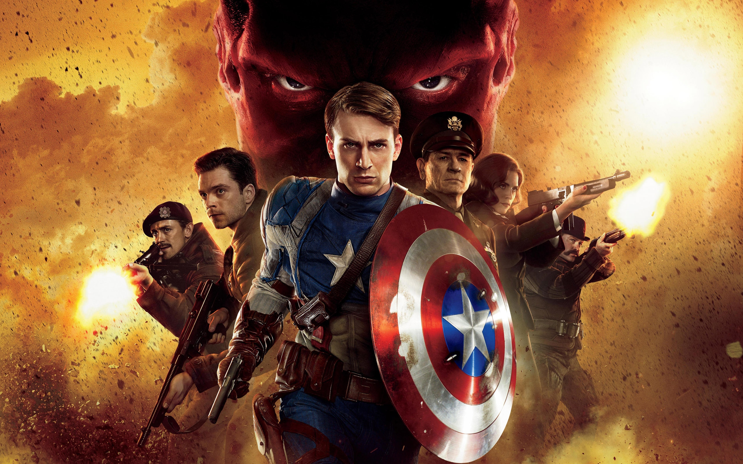 Captain America First Avenger Wallpaper