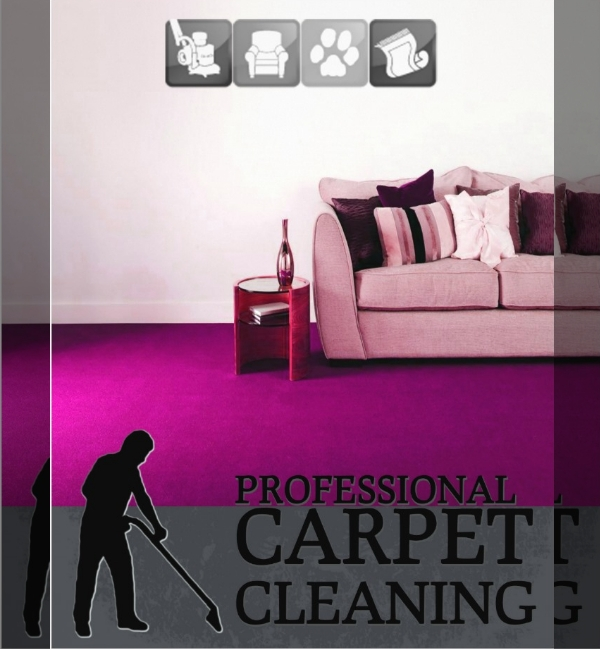 Carpet Cleaning Service Flyer Design