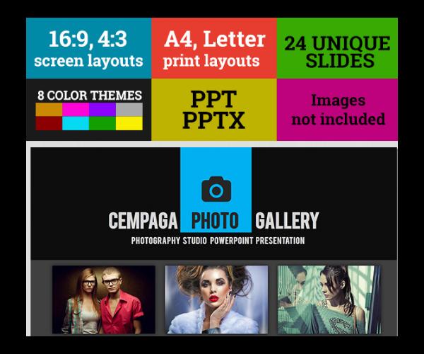 Cempaga Photography Studio PowerPoint Presentation