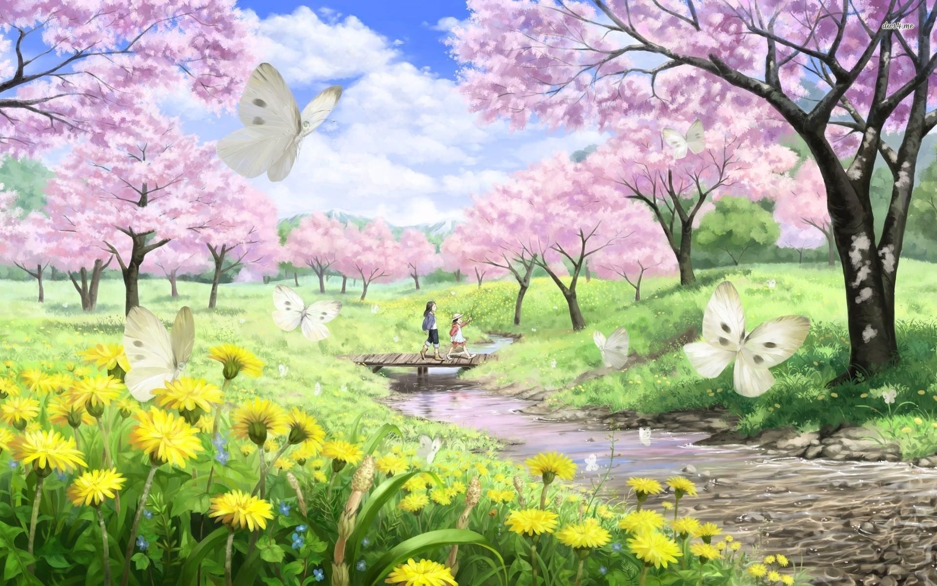 Cherry Blossom Wallpaper Background