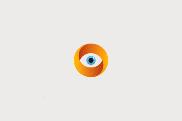 Circular Eye Logo Design
