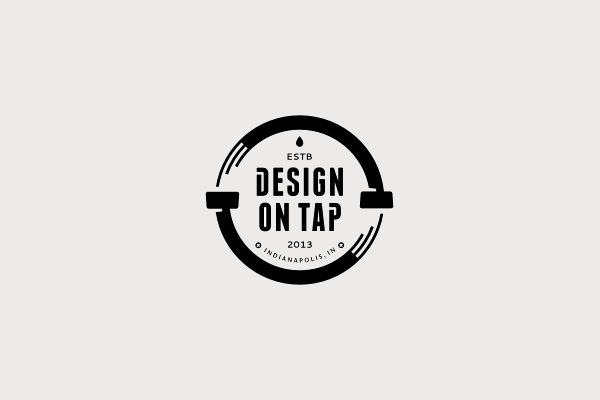 Circular Logo For Interactive Agency