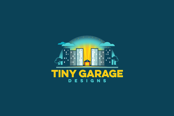 city logo design for garage