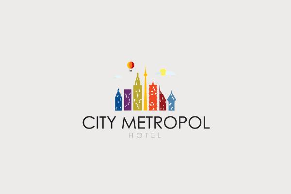 city logo design for travel hospitality