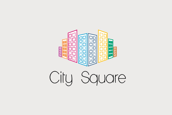 City Square Logo For Real Estate