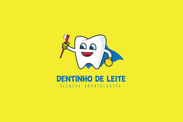 Clínica Dentinho de Leite Health Logo