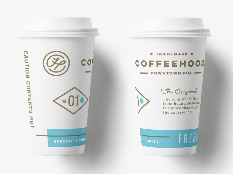 Coffeehood Paper Cup Logo