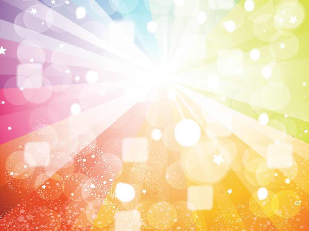 Colored Abstract Sparkling Background