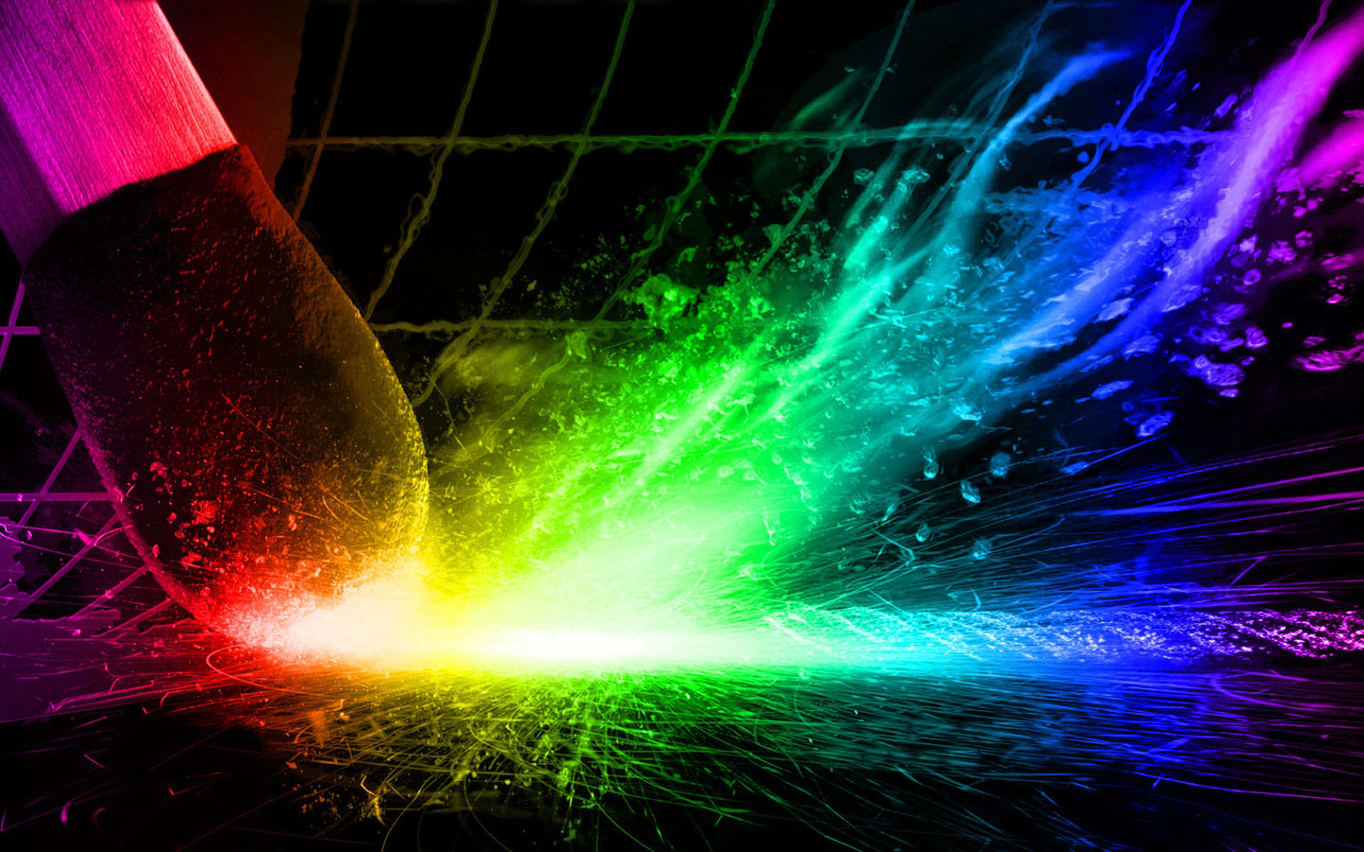 Colorful 3D Arts Wallpaper