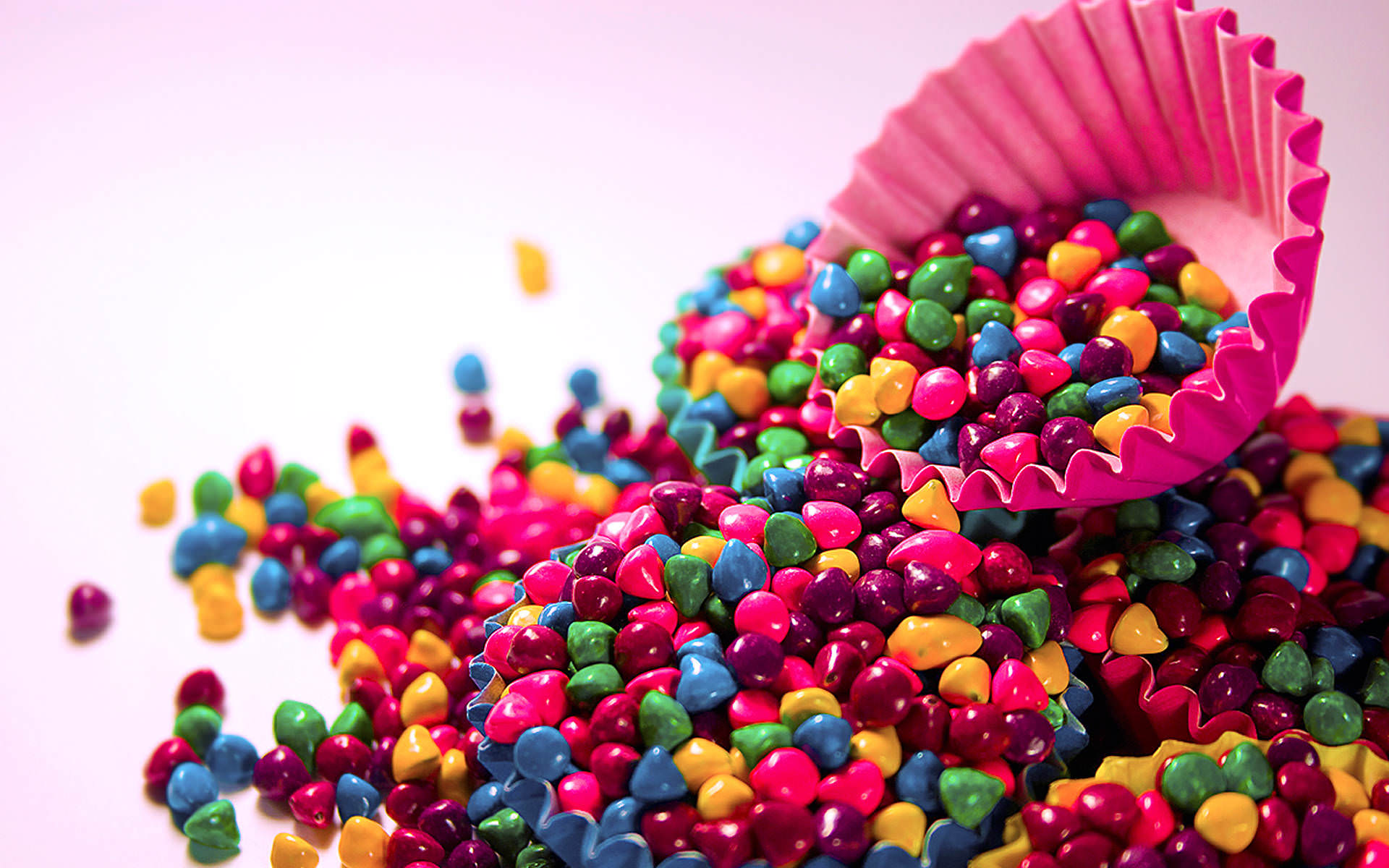 Colorful Candys Wallpaper