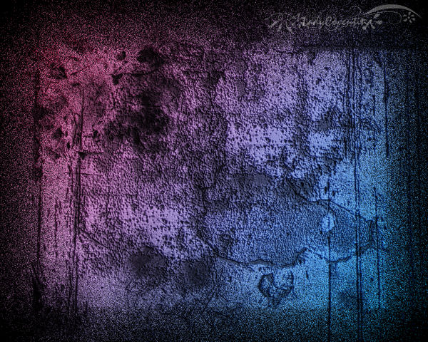 Colorful Distressed Wallpaper