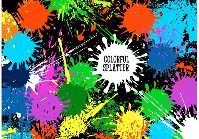 download paint splatter background - photo #40