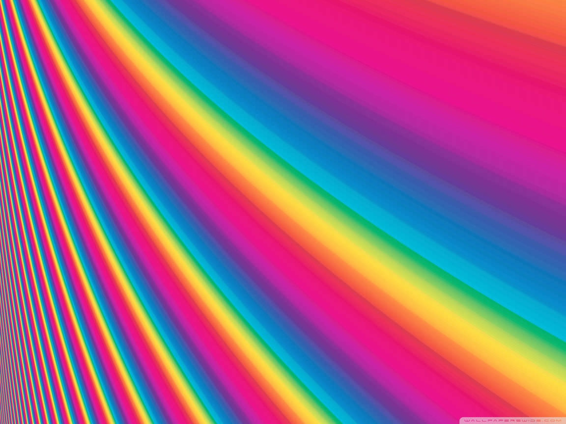 Colorful Widescren Spectrum Wallpaper