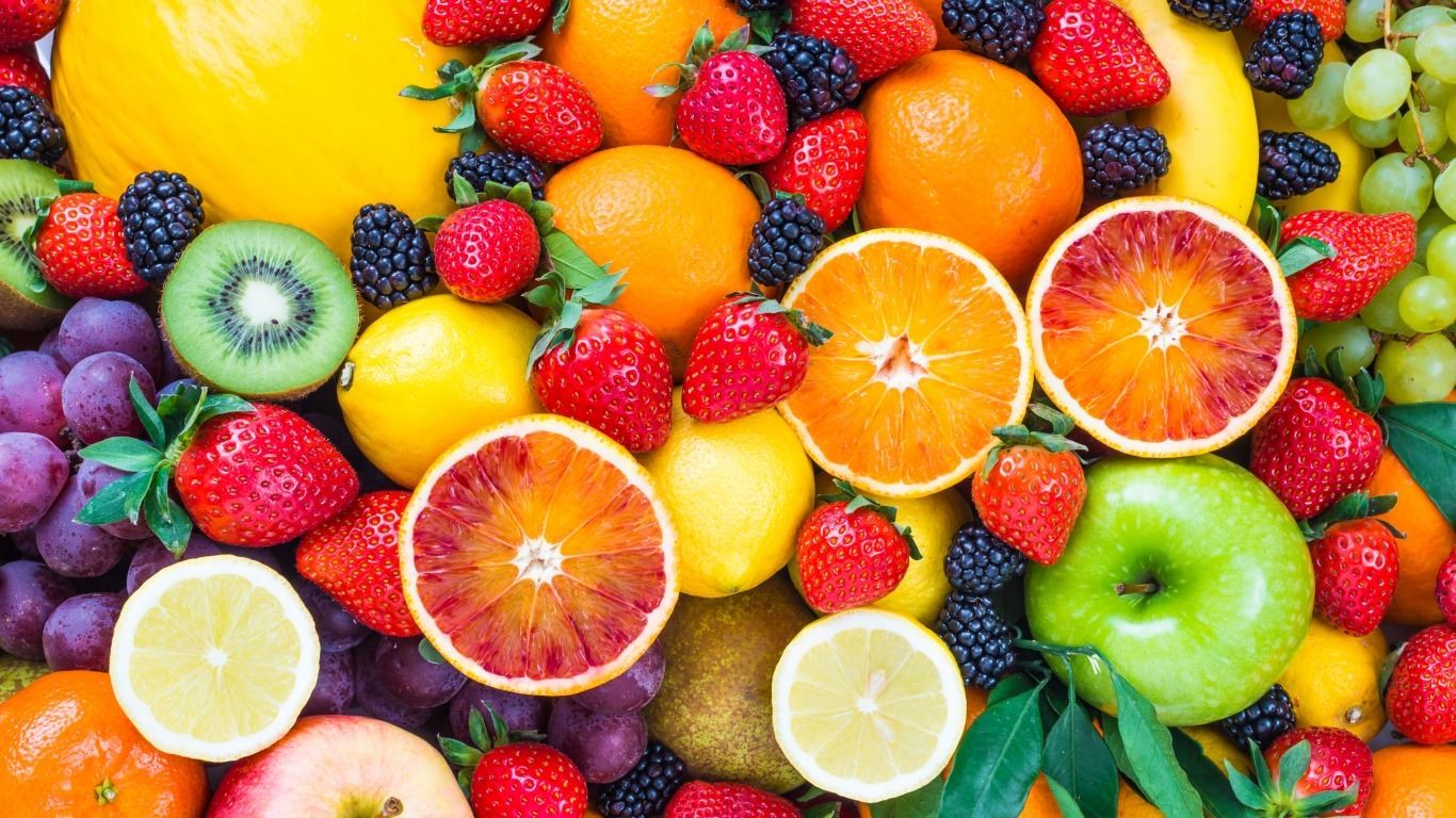 colorful fruits wallpaper