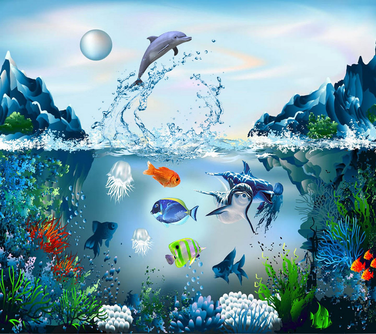 Cool Aquarium Wallpaper