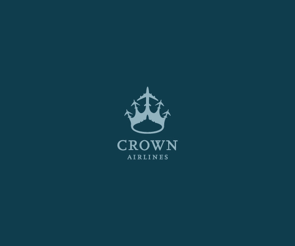 Creative Crown Airlines Logo