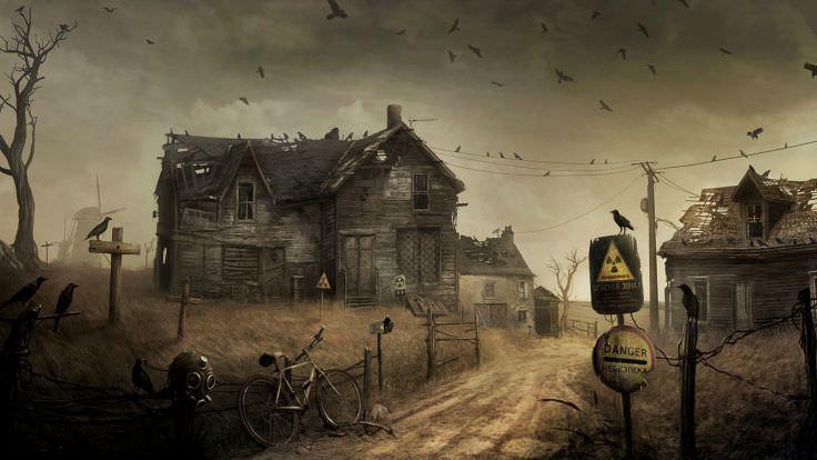 Creepy Apocalypse Wallpaper