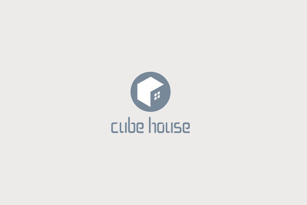 Cube House Logo For Construction