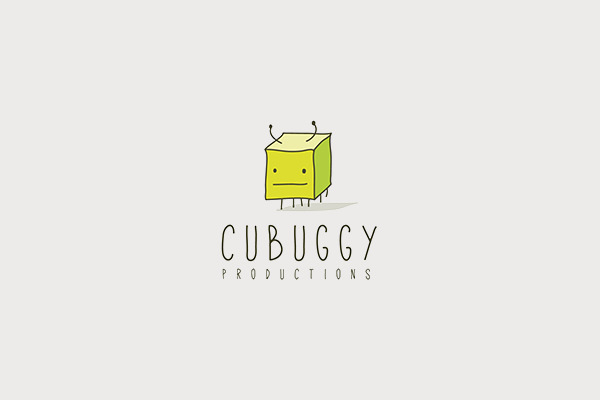 Cube Logo Design For Entertainment