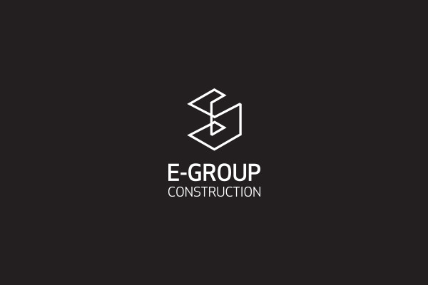 Cube Logo For Construction Business