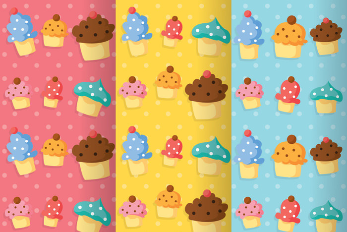 Cupcake Girly Pattern