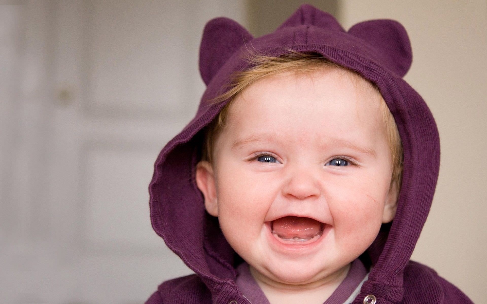 Cute Baby Boy Smiling Wallpaper