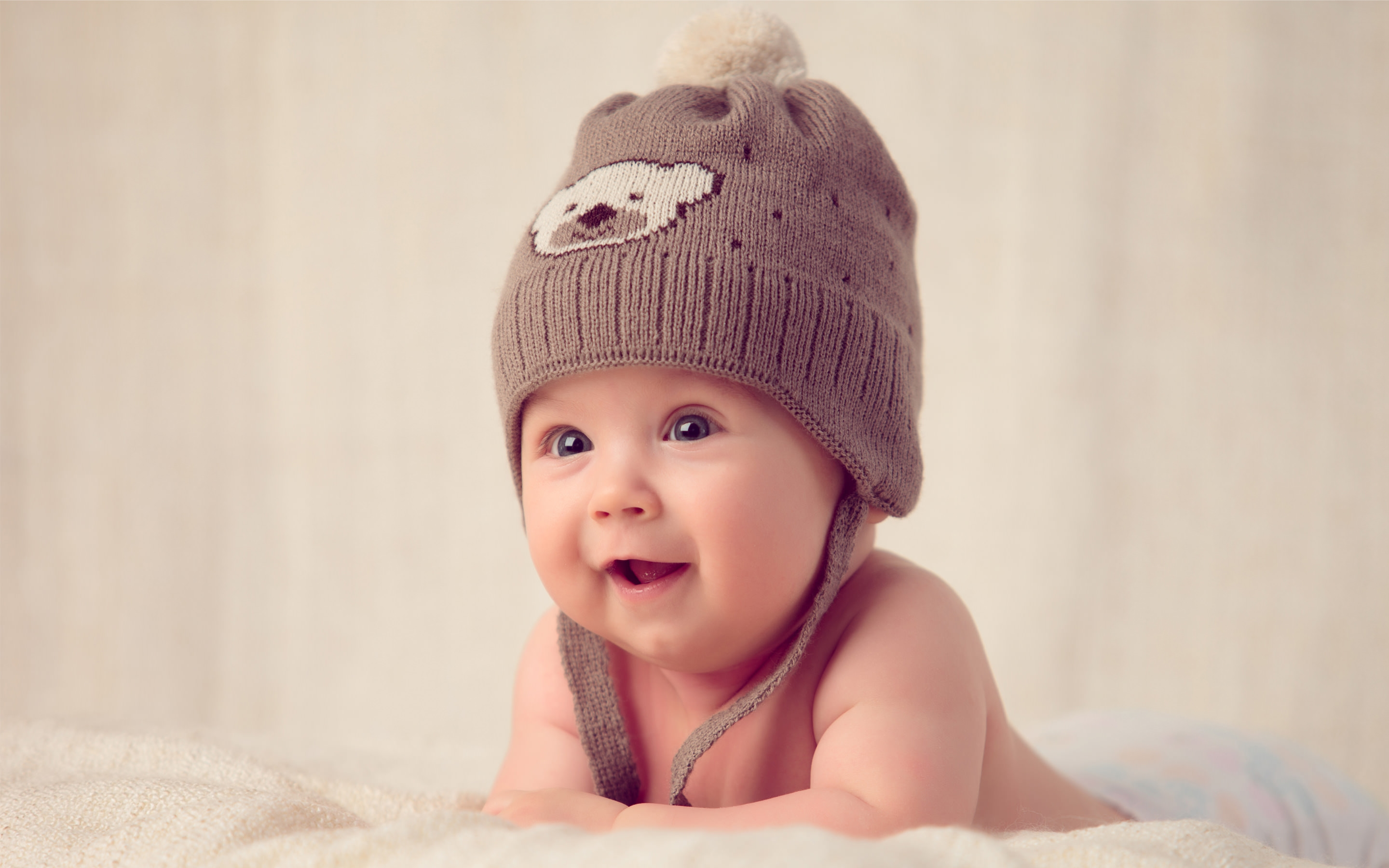Cute Baby with Cap Wallpaper