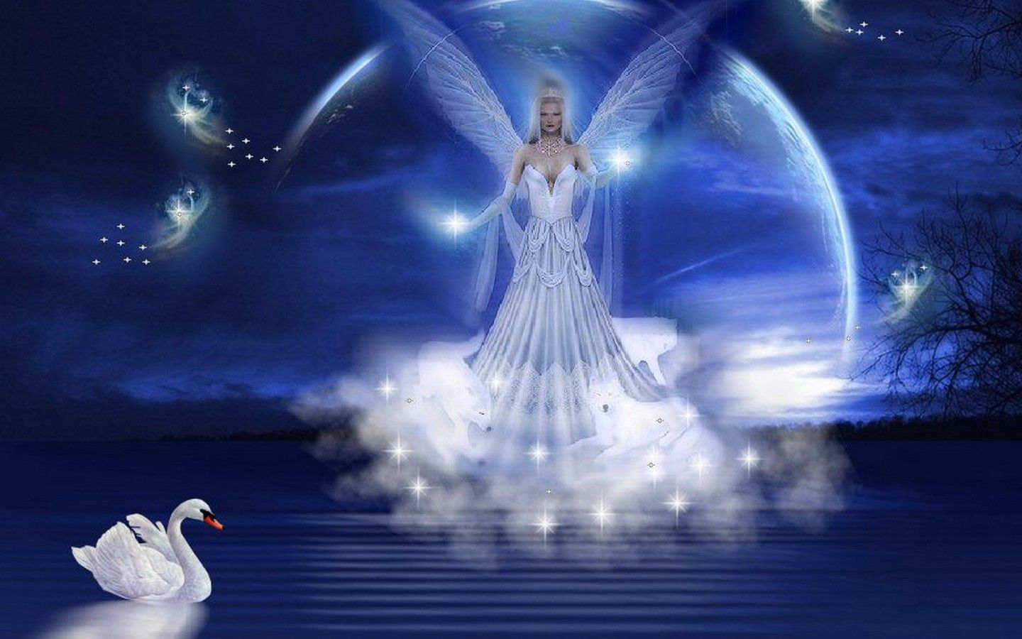 Angel HD Wallpapers Background Images Wallpaper