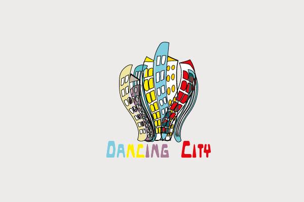 Dancing City Logo Design