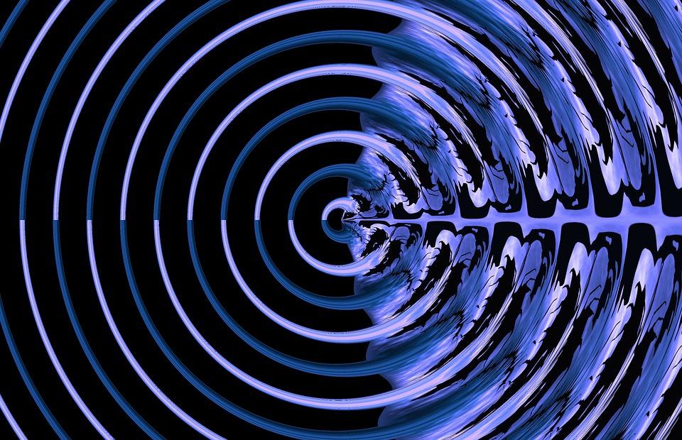 Dark Blue Modern Background