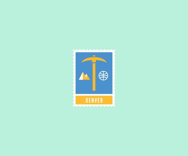 Denver Blue Gold Logo